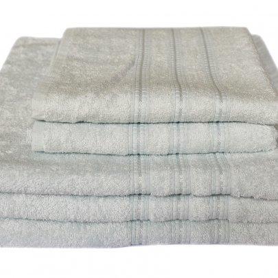 Бамбуковое махровое полотенце Arya. Alice мятный