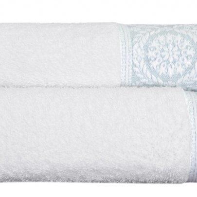 Махровое полотенце Arya. Жаккард Ario Mint