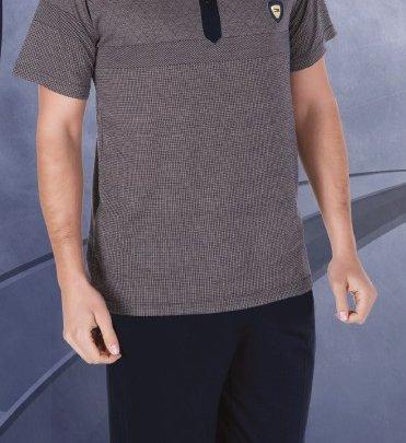 Домашний костюм с брюками мужской Cocoon.  Модель 4390 bone