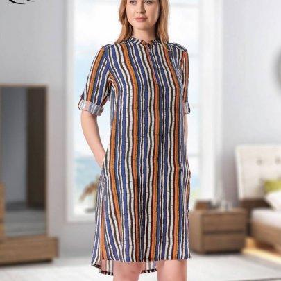 Рубашка Cocoon. Модель 16007 siyah