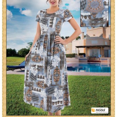 Платье Cocoon. Модель 20235