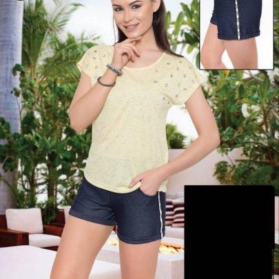 Костюм футболка и шорты Cocoon. Модель 62017 sari