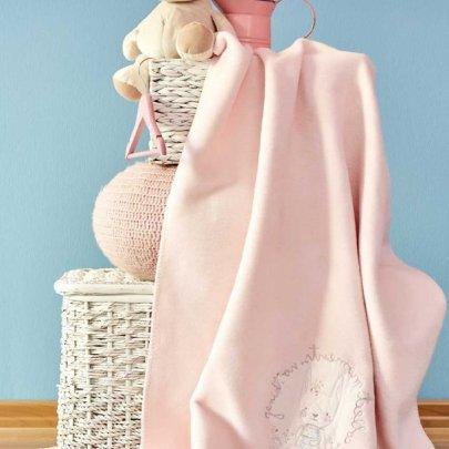 Детский плед в кроватку Karaca Home. Pink Garden