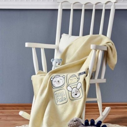 Детский плед в кроватку Karaca Home. Sweet Summer yesil