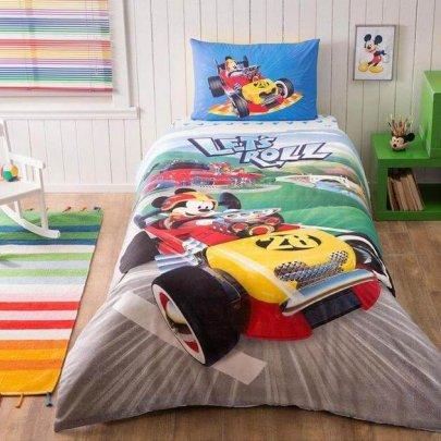 Детское постельное белье TAC. Mickey Racer