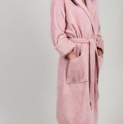 Махровый халат TAC. Maison Pink
