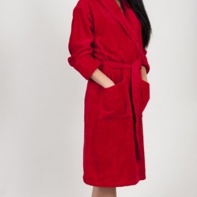 Махровый халат TAC. Maison Red