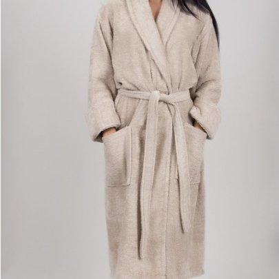 Махровый халат TAC. Maison Beige