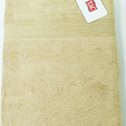 Полотенце махровое TAC. Maison Bambu Havlu Brown Light