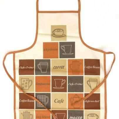 Фартук кухонный водонепроницаемый Akipek. Кава
