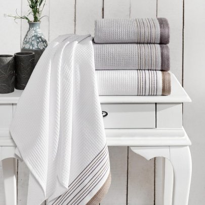 Махровое полотенце Arya. Ella Grey