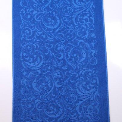 Махровое полотенце Речицкий текстиль. ЖУРАВИНКА синий