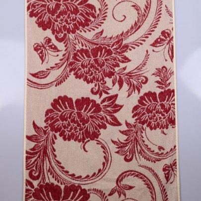 Махровое полотенце Речицкий текстиль. НИКОЛЕТТА красный