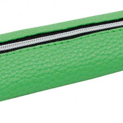 Пенал мягкий PU YES. Микс зеленый, 19*5 см