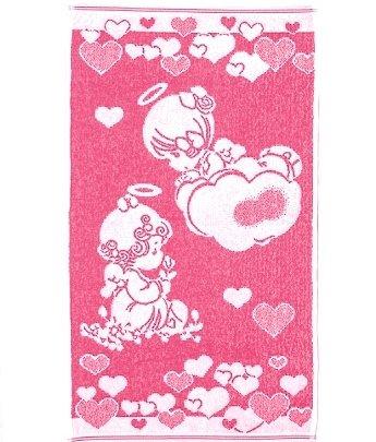Махровое полотенце Речицкий текстиль. Девочки-Ангелы