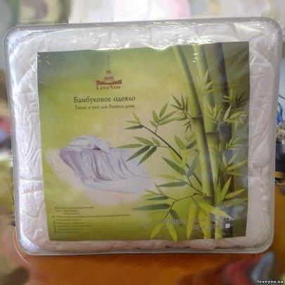 Одеяло Love You. Бамбуковое волокно, размер 195х215 см