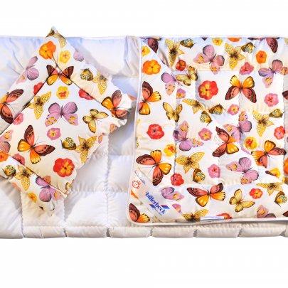 Комплект Billerbeck Беби, одеяло+подушка антиаллергенные, 110х140+40х55