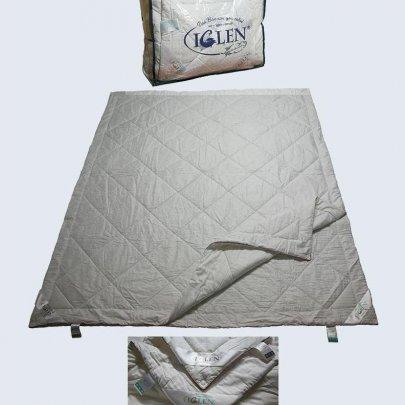 Одеяло Iglen Дуэт шерсть+хлопок, размер 172х205см