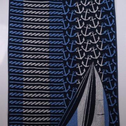 Махровое полотенце Речицкий текстиль. ШХУНА