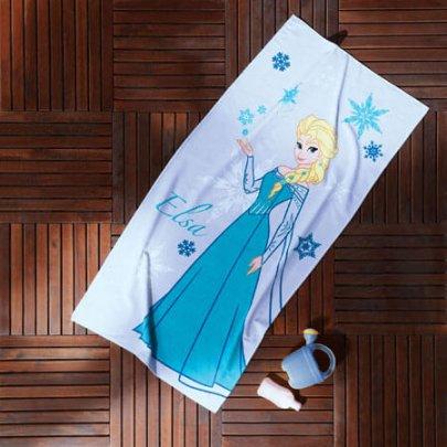 Пляжное полотенце TAC. FROZEN ELSA, 75х150 см