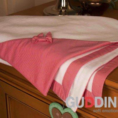 Полотенце для новорожденной Gudinni белого цвета