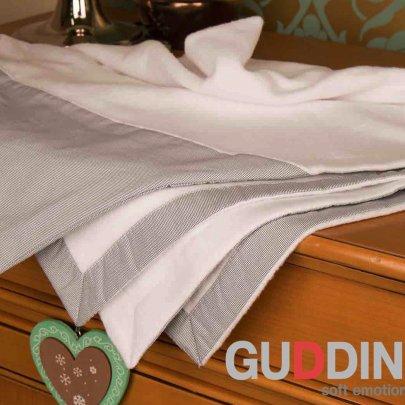 Полотенце для новорожденного Gudinni белого цвета