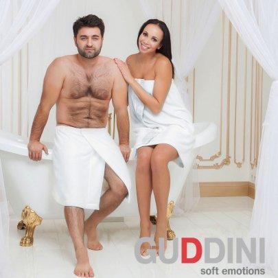 Юбка банная мужская Guddini. Austin белая