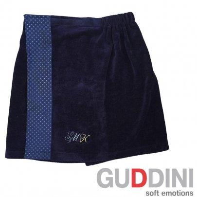 Юбка банная мужская Guddini. Ventura темно-синяя