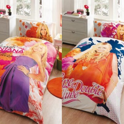 Детское постельное белье ТАС. Disney Hanna Montana Bright
