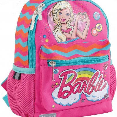 Рюкзак детский 1 Вересня. Barbie pink K-16