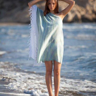 Туника для пляжа Barine. Marble Yesil