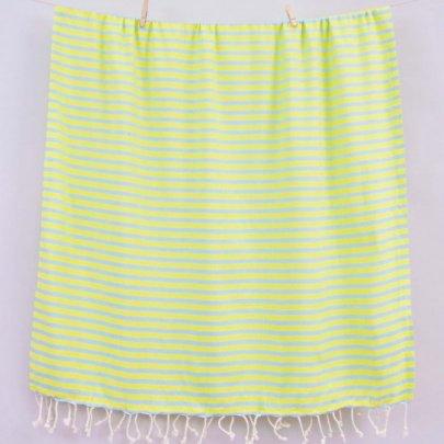 Пляжное полотенце Barine. Pestemal Herringbone Mint-lime