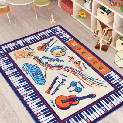 Детский коврик Confetti. MUSIC ANTI-SLIP, размер 133х190 см