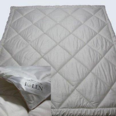 """Одеяло """"Iglen"""" демисезонное шерстяное в тике в ассортименте"""