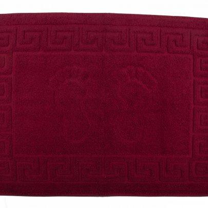 Полотенце для ног АЗЕРБАЙДЖАН. Ножки красное, 50Х70 см