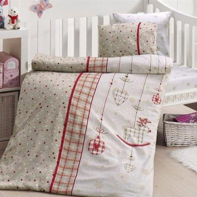 Детское постельное белье First Choice. Palmy Kirmizi