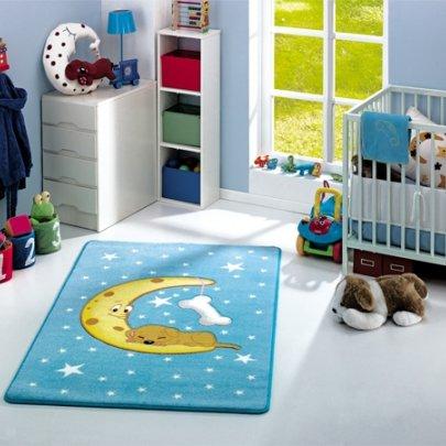 Детский коврик Confetti. Moon Blue