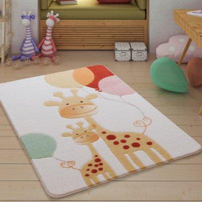 Детский коврик Confetti. Happy Giraffe Yellow