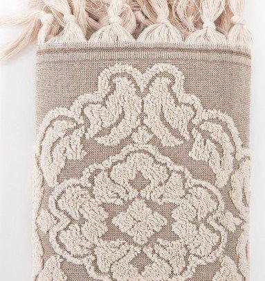 Махровое полотенце Irya. Jakarli Calisto bej