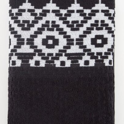 Махровое полотенце Irya. Jakarli New Wall siyah