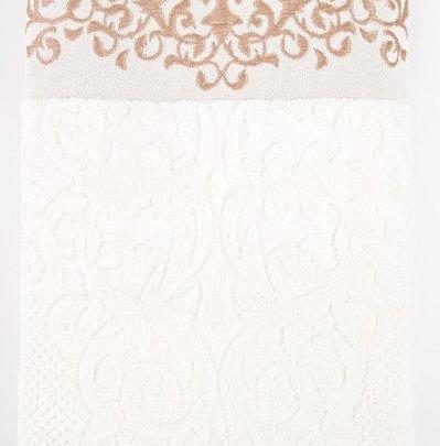 Махровое полотенце Irya. Jakarli Queen ekru