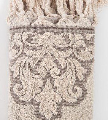 Махровое полотенце Irya. Jakarli Vintage bej