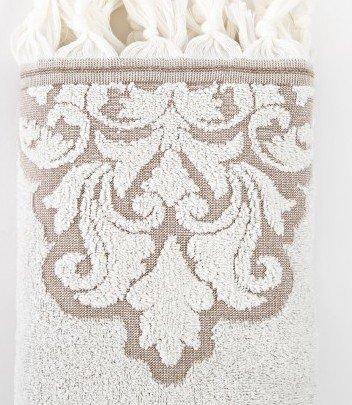 Махровое полотенце Irya. Jakarli Vintage ekru