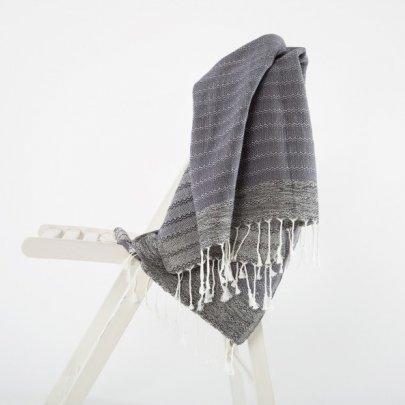 Пляжное полотенце Irya. Dominika gri серый