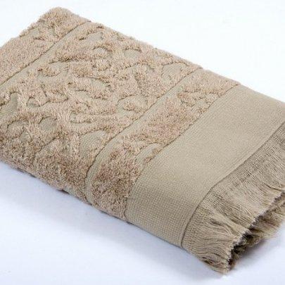 Полотенце махровое Tac. Royal Bamboo Jacquard S. Kahve