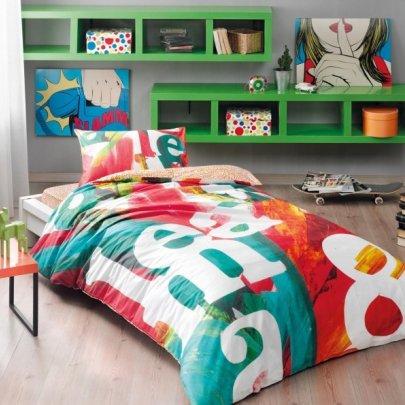 Подростковое постельное белье TAC. Ranforce Pop art
