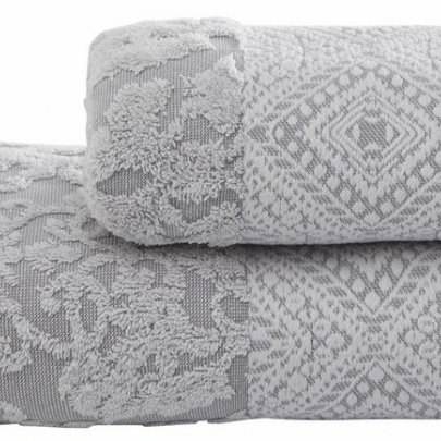 Махровое полотенце Arya. Жаккард Sesiba