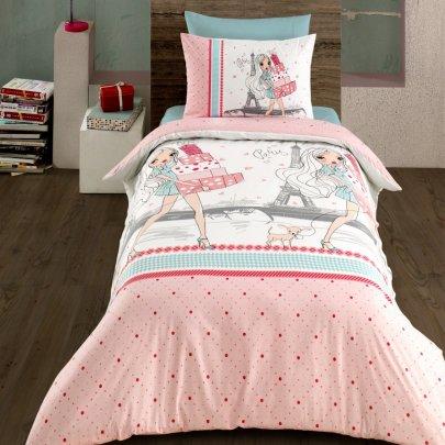 Подростковое постельное белье Arya. Ранфорс Shopping