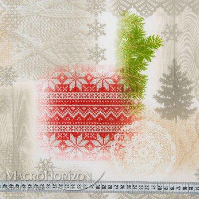 Скатерть Новогодняя Праздничная MacroHorizon Испания Bonati круглая