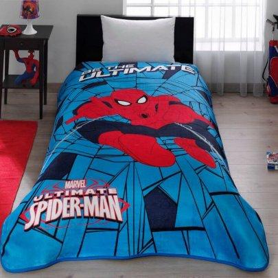 Детский плед TAC. Disney Spiderman Web